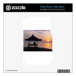 Sunset in Bali Decal For iPod Touch 4G