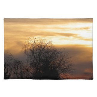 Sunset in Bavaria Place Mat