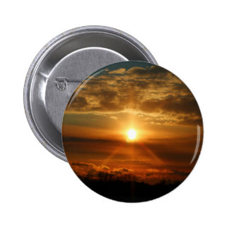 Sunset in Bowmanville 1 Pinback Buttons