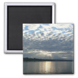 Sunset in British Columbia Canadian Seascape Magnet
