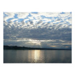 Sunset in British Columbia Canadian Seascape Photo Print