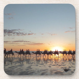 Sunset in Broome Drink Coaster