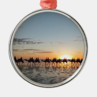Sunset in Broome Metal Ornament