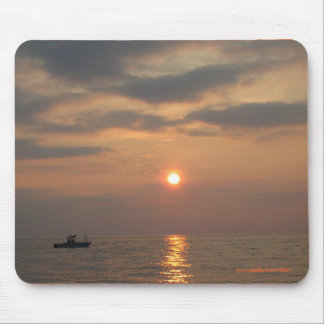 SUNSET IN CAPE MAY MOUSEPAD