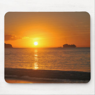Sunset in Caribbean Mouse Pad