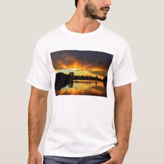 Sunset In City Londrina, Brazil T-Shirt