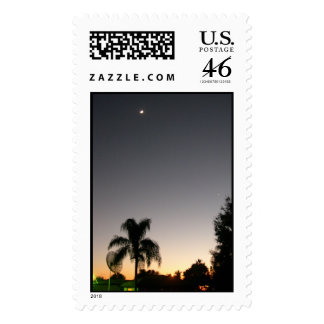 Sunset in Clearwater Florida Postage