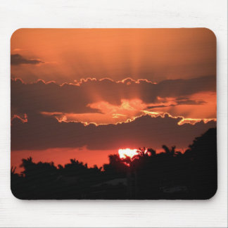 Sunset in Copper Mouse Pad