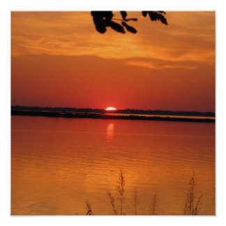 Sunset in Corolla NC Poster