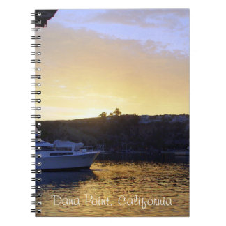 Sunset in Dana Point Notebook