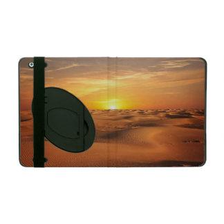 Sunset in Desert iPad Cases