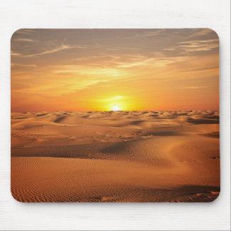 Sunset in Desert Mouse Pad