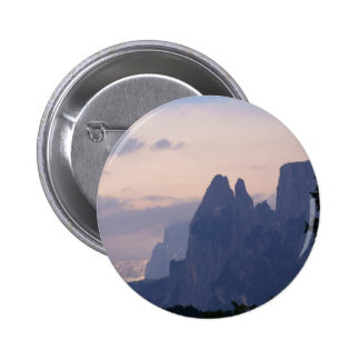 Sunset in Dolomites Pinback Buttons