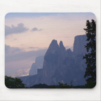 Sunset in Dolomites Mouse Pad