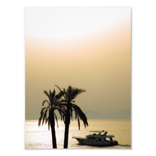 Sunset in Egypt Photo Print
