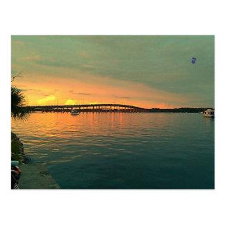 Sunset in Florida Postcard