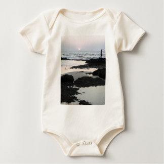 sunset in Goa Baby Bodysuit
