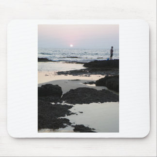 sunset in Goa Mouse Pad