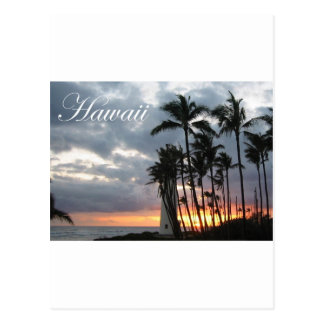 Sunset in Hawaii 2 Postcard