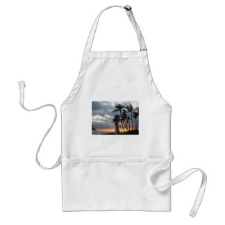 Sunset in Hawaii Adult Apron