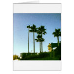 sunset in hollywood greeting cards