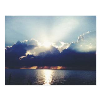 Sunset in Key Biscayne 2 Postcard