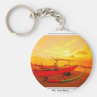 Sunset in Kuta Keychain