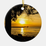 Sunset in Lahaina Ornament