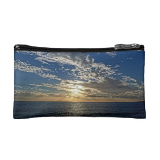 Sunset in Liguria - the Cinque Terre, Italy Bag Makeup Bags