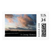 Sunset In Loving Memory Peaceful Memorial Stamps 1