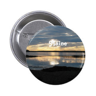 Sunset in Maine Pins