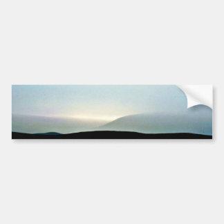 Sunset In Mist, North Island Bumper Sticker