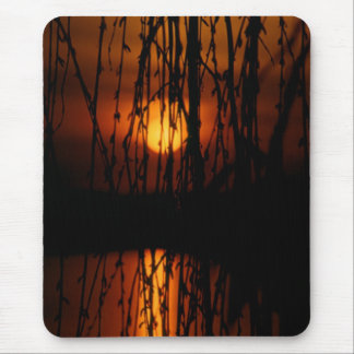 Sunset in Montreux mouse PAD