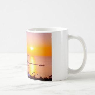 Sunset in Mykonos, Greece Coffee Mug