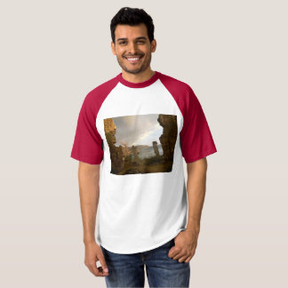 Sunset in old ruins t-shirt