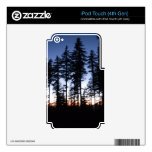 Sunset in Oregon Skins For iPod Touch 4G