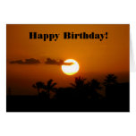 Sunset in Paradise Card