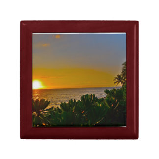 Sunset in Paradise Keepsake Box