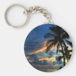 Sunset in Paradise Keychains