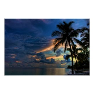 Sunset in Paradise zazzle_print