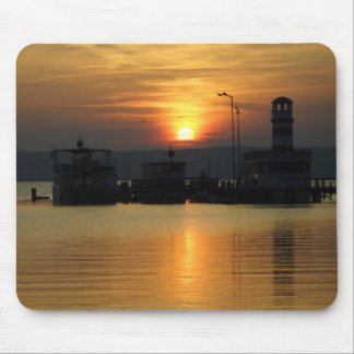 Sunset In Podersdorf Burgenland Mouse Pad