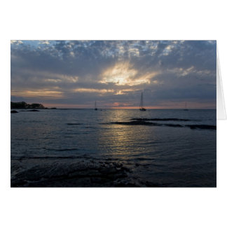 Sunset in Puako Greeting Card