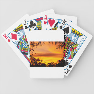 SUNSET IN RURAL QUEENSLAND AUSTRALIA BICYCLE POKER CARDS