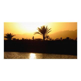 Sunset in Sharm el Sheikh, Egypt Card