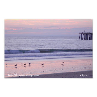 Sunset in Southern California Photo Art