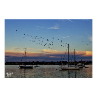 Sunset in St. Augustine, Florida Poster