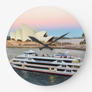Sunset In Sydney Clock