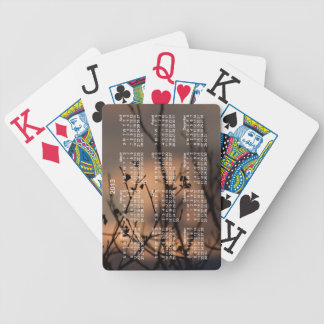 Sunset in the Background; 2013 Calendar Card Deck
