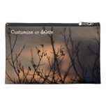 Sunset in the Background; Customizable Travel Accessory Bags