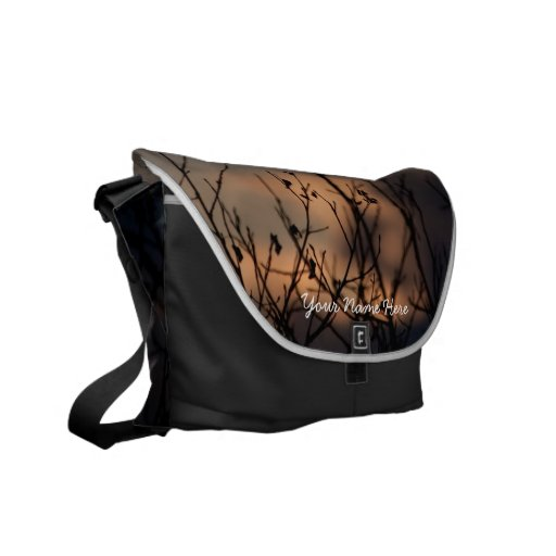 Sunset in the Background; Customizable Messenger Bag